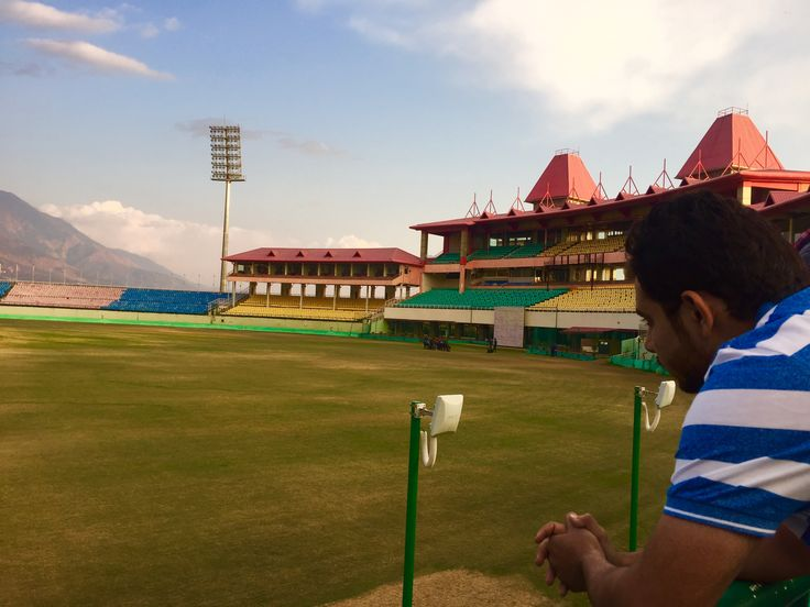 HPCA stadium, Dharamshala Manali,, College Industrial Visit