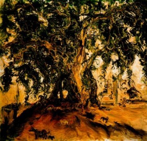 AFFANDI (1907-90)  Pohon Beringing (1968)