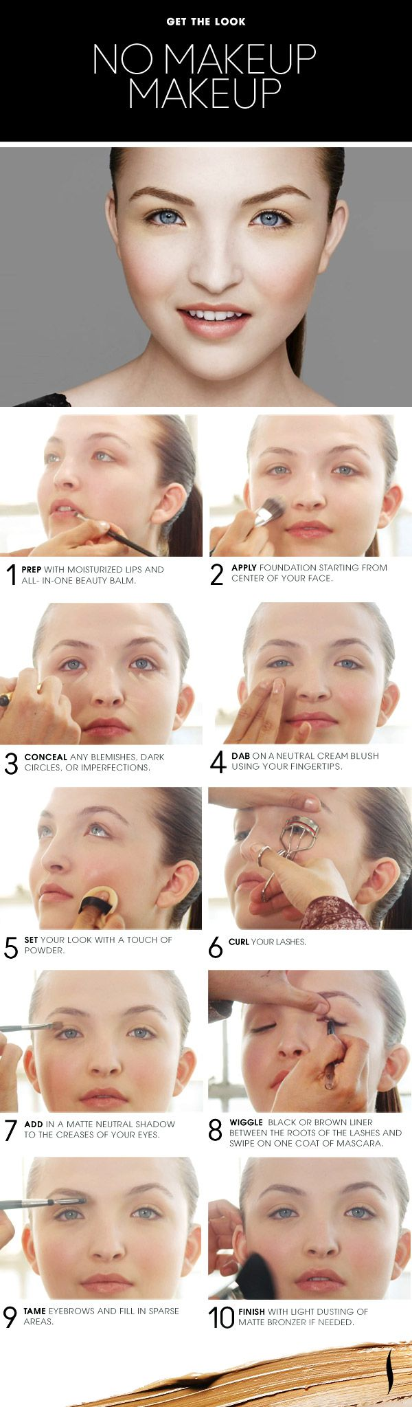 Beauty How To The No Makeup Makeup Look from Sephora