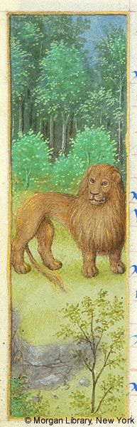 Leo | Book of Hours France | ca. 1480 | The Morgan Library & Museum