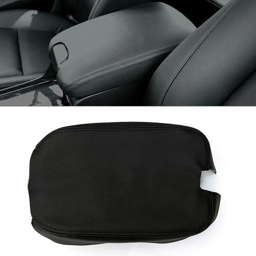 For Honda Accord 2008-2012 Real Genuine Leather Center Console Armrest Lid Cover #Budgettank