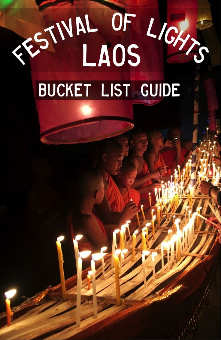 Festival of Lights (The Lai Hua Fai), Laos