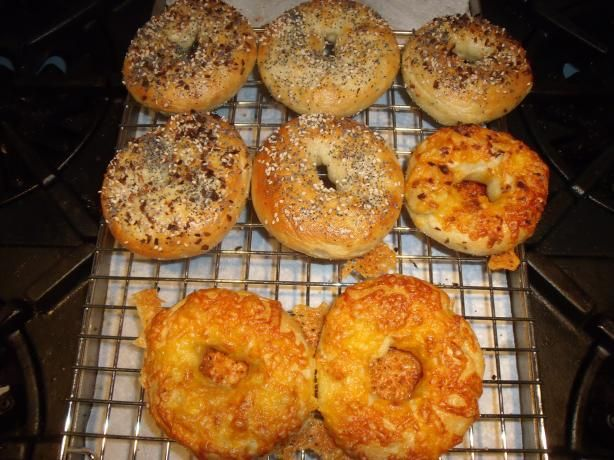 Basic Bagel For The Bread Machine) Recipe - Food.com - 55609