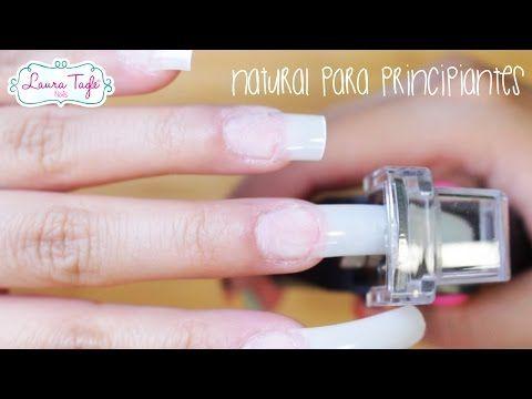 Uñas para PRINCIPIANTES de Acrílico Natural / Paso a Paso - YouTube