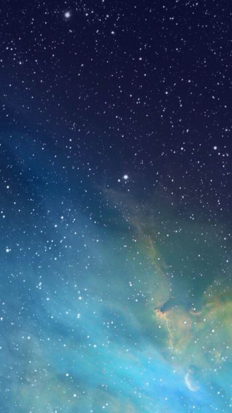 iOS 7 Galaxy Wallpaper - Starlight, star bright, Gogeshe thinks this wallpaper is beautiful tonight! #wallpaper