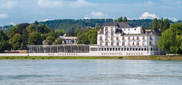 Het historische Rheinhotel Dreesen