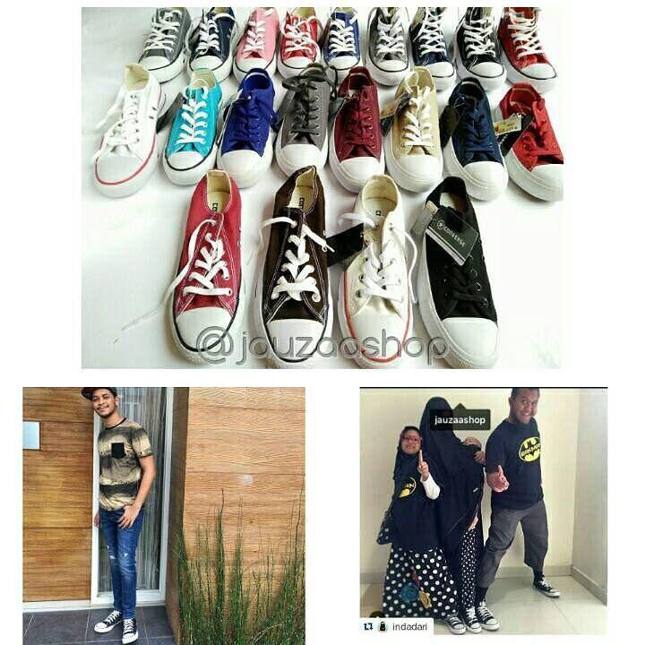 90.000 uda dapat sneakers kece lho kayak yg dipake para selebgram ini!! Nih buruan follow @jauzaashop  @jauzaashop  @jauzaashop  .  Ssttt... Ada 2 sepatu CONVERSE GRATIS utk 2 orang yg beruntung!!  . . .  #converse #conversemurah #sepatuconverse #adidas #adidasyezzy #wakai #nike #giveaway http://ift.tt/2f12zSN
