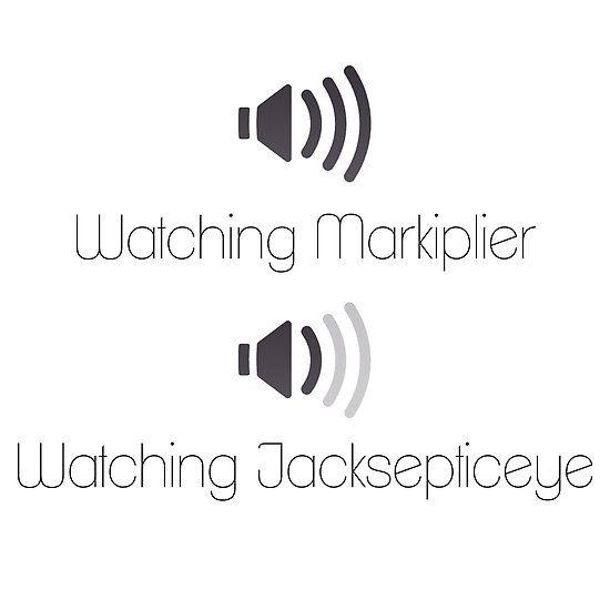 Markiplier and Jacksepticeye Volumes