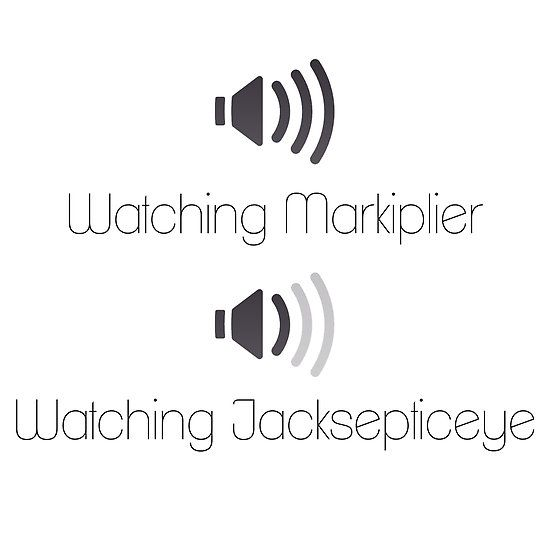 Markiplier and Jacksepticeye Volumes