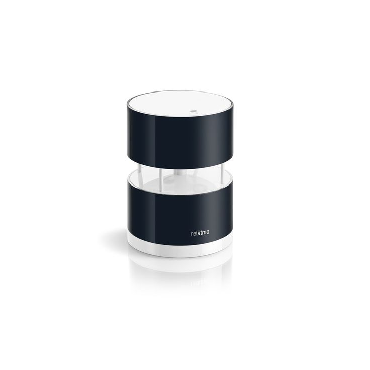Netatmo Wind Gauge. Connects with Netatmo's Weather Station, measure wind speed and direction and read of your connected device