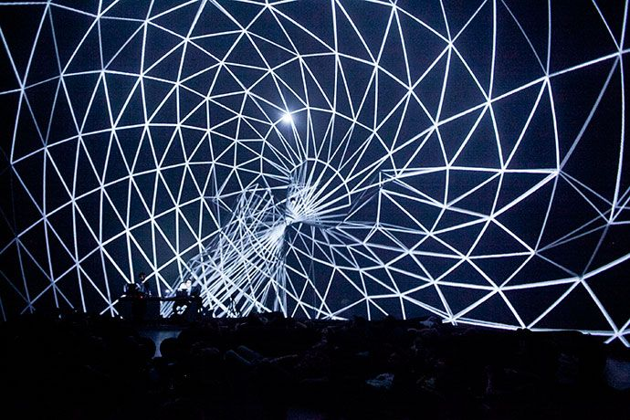 DOME PROJECTIONS | Joanie Lemercier