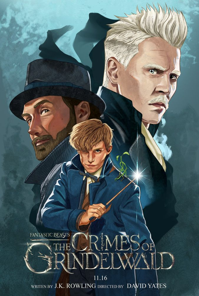 Fantastic Beasts The Crimes Of Grindelwald With Images