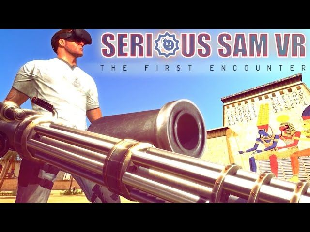Serious Sam VR The First Encounter - Early Access Trailer - http://gamesitereviews.com/serious-sam-vr-the-first-encounter-early-access-trailer/