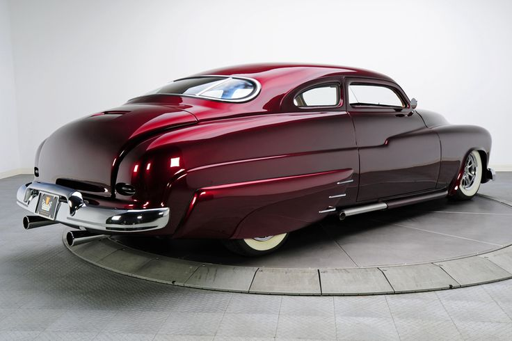 Burgundy 1950 Mercury Monterey | RK Motors Charlotte | Collector and Classic Cars  I like the style of this................lotta car!!!!!