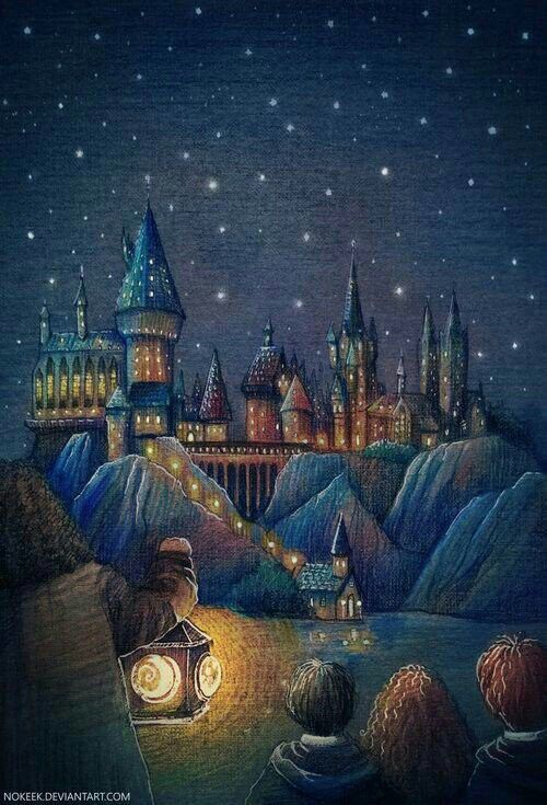First look at Hogwarts School // Art by Nokeek @ d…