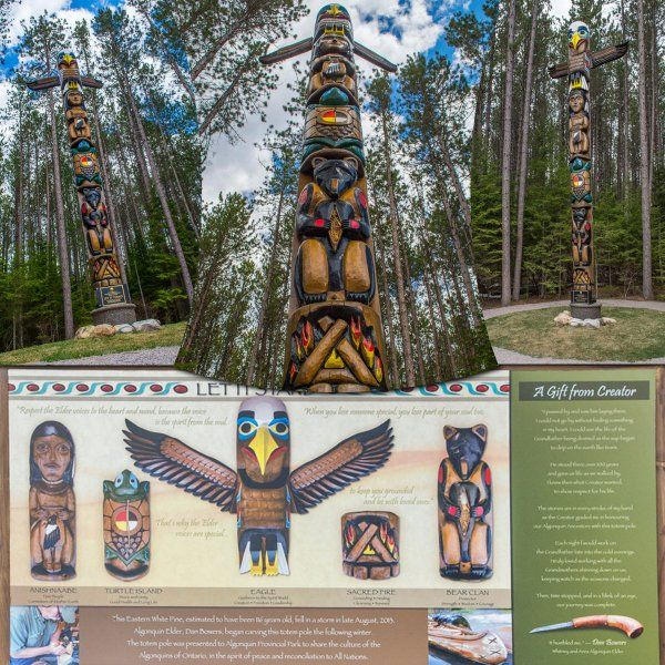 Culture and history of the Totem Pole. Algonquin Outfitters (@algonquinoutfit) | Twitter