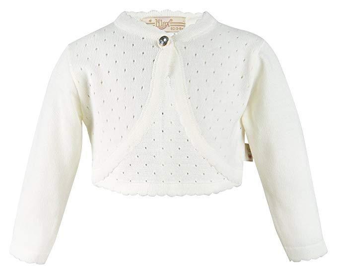 f9b27b3b1 Baby Girl Knit Long Sleeve Cardigan