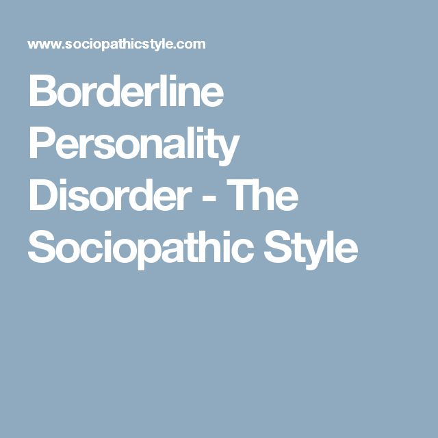 a borderline personality disorder nursing essay borderline personality disorder etiology: a history of abuse in the patient's is very common some hypothesize that if, as a child, the patient was separated.