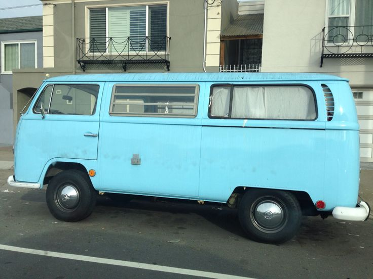 Saw this awesome vw car in San Fran!