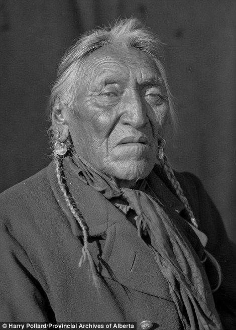 Pollard was born in Ontario, Canada in 1880 and specialised in photographing native people such as Wolfe Caller of Siksika Nation