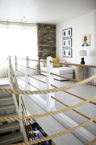 Horizontal Rope Railing