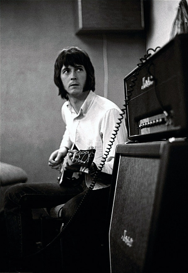 "Eric Clapton--recording the ""Beano"" album with John Mayall's Bluesbreakers.  Also features E.C.'s first recorded vocal on ""Ramblin' on My Mind""."