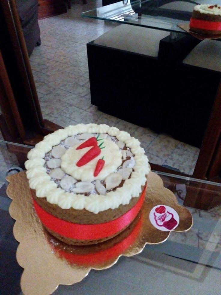 #cake #zanahoria #almendras #yummy #yummygourmet