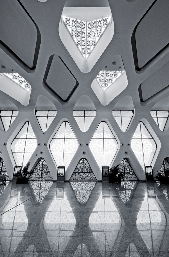 Menara Airport, Morocco Photographed by Darrell Godliman