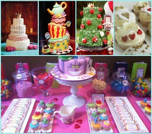 Fiesta tem tica alicia en el pa s de las maravillas blog for Decoracion xv anos alicia pais maravillas