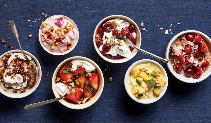 Desayunos con yogur