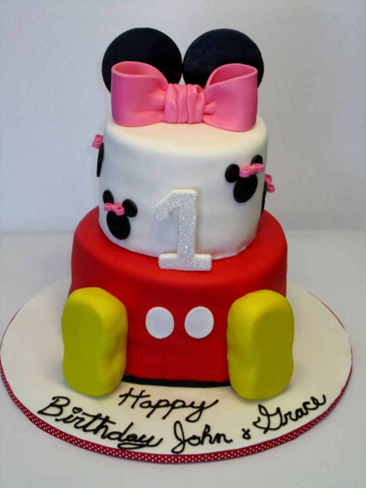 171 best Twins 1st bday party images on Pinterest Mickey mouse