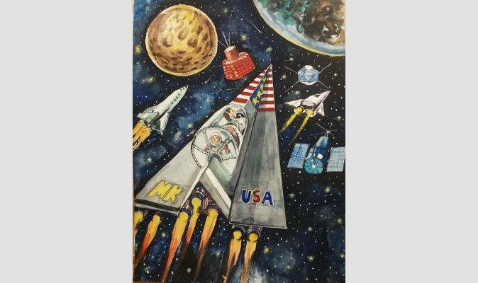 2014 Winner - 3rd Place, Category: Age 13-14 years, Mean-Hie Kim, Northwood High School, Irvine, Calif., USA
