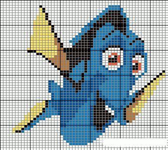 Fabinha Gráficos Para Bordados: Nemo