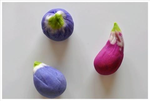 eggplant wagashi ♥ Wagashi