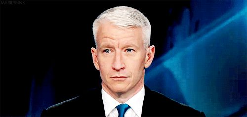 Anderson Cooper… He is just too adorable!