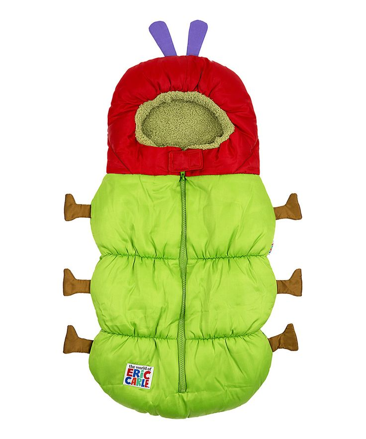 This Eric Carle Caterpillar Bunting Bag by The World of Eric Carle is perfect! #zulilyfinds