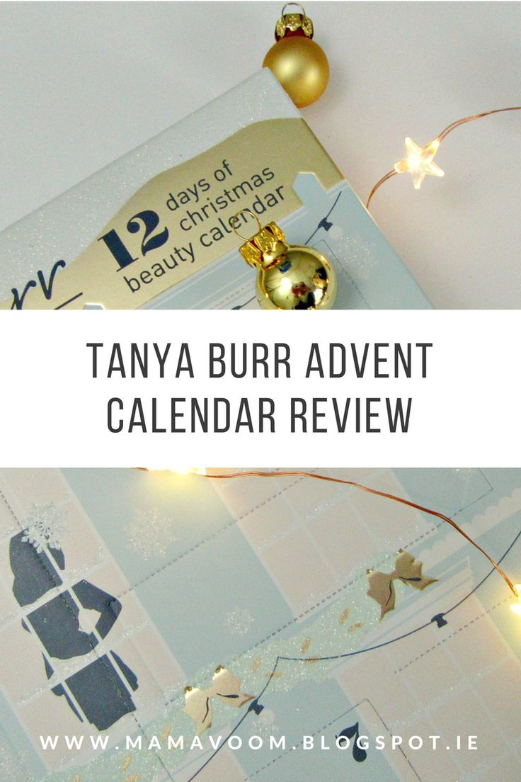 A review of Tanya Burr's 12 Days of Christmas Advent Calendar