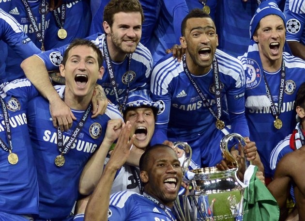 Chelsea UEFA Champions League champions 2011/2012