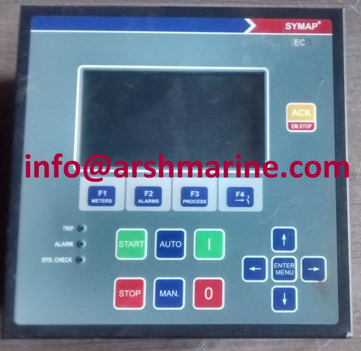 SYMAP EC Microprocessor Based Protection Relays www.arshmarine.com