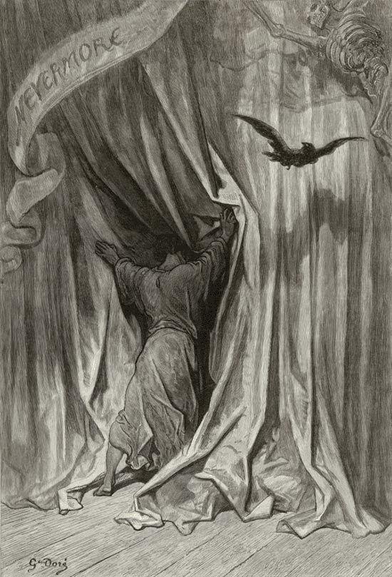 Raven | ... Doré (Illustrations of The Raven – Ilustraciones para El Cuervo