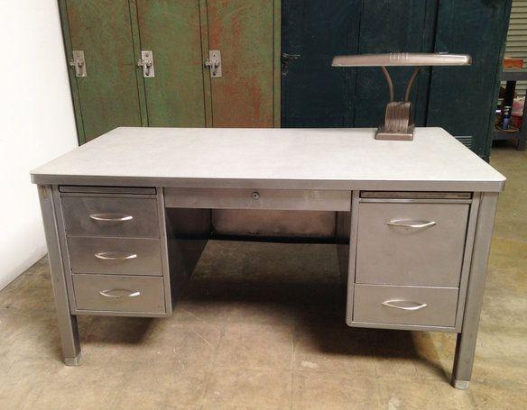 Retro Vintage Tanker Desk. Tanker DeskEagle RockInterior PaintVintage Industrial  FurnitureRetro VintageRepurposedAttitudeDesksLos Angeles