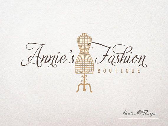 Premade logo Fashion boutique logo  Logo by KristinARTdesign, $15.00