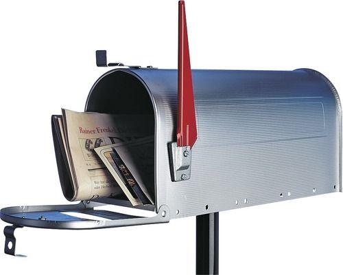 Briefkasten US-Mailbox Burg Wächter Alu
