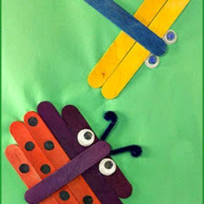 craft stick projects for preschoolers 17 best images about knutselen met ijslollystokjes on 497