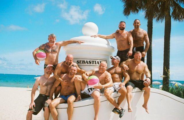 BeachBear Weekend, Dudes, Muscle Bears