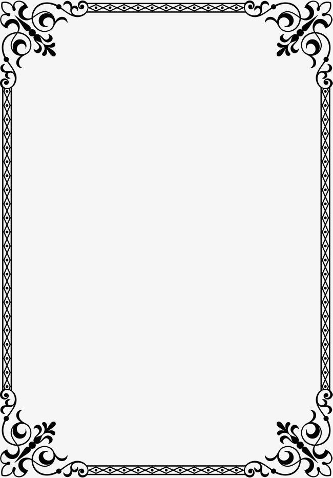 Flower Frame Frontera Textura De Frontera Png Y Psd Para Descargar Gratis Pngtree Bordes Y Marcos Marcos Para Texto Bordes De Pagina