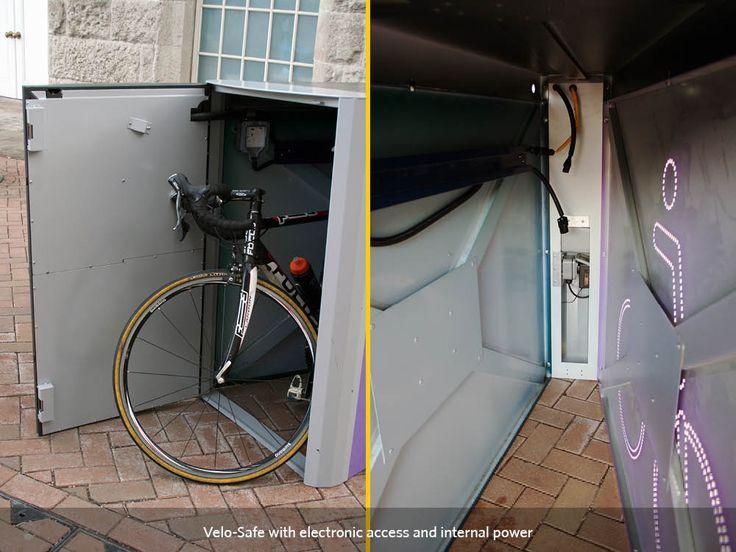 Electronic Access   Cycle-Works Limited   Bike Lockers   Bike Storage   Bike Sheds