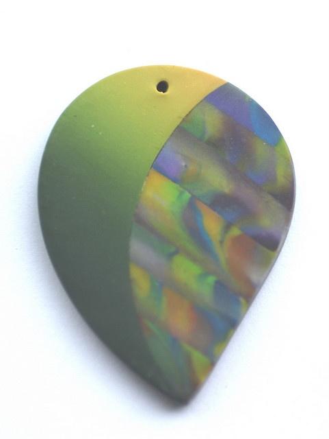 Polymer Clay Pendant by signeera, via Flickr