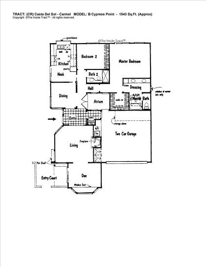 this is the model cypress point  1543 sqft  2 bedroom w