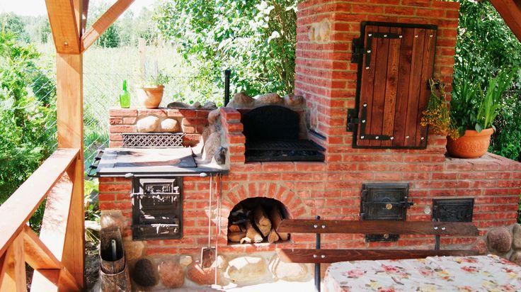 grilo wedzarnia z kuchnią letnią i piecem do pizzy www.studiozdunskie.pl